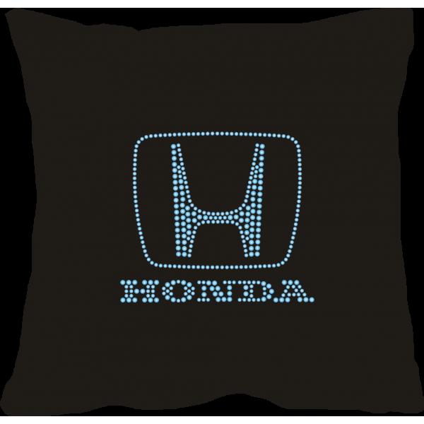 """Подушка с логотипом """"Honda""""."""