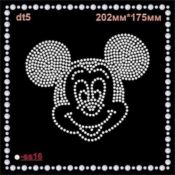 "Аппликация из страз ""Micky Mouse"" (1шт/л)."