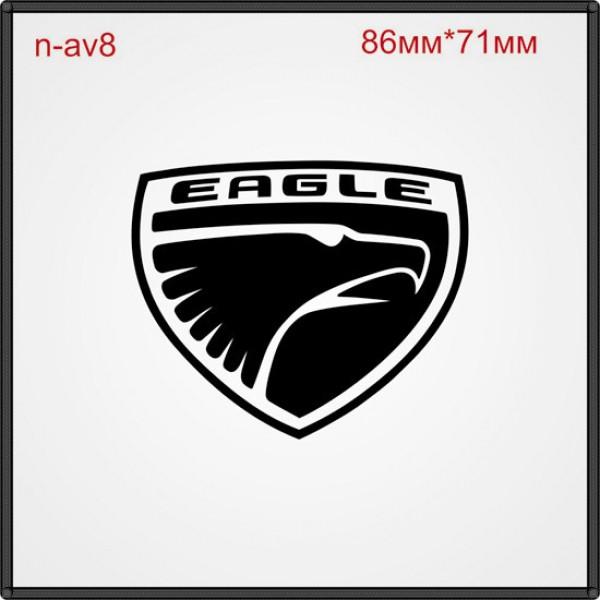 """Термонаклейка """"Eagle"""" (30шт/л)."""