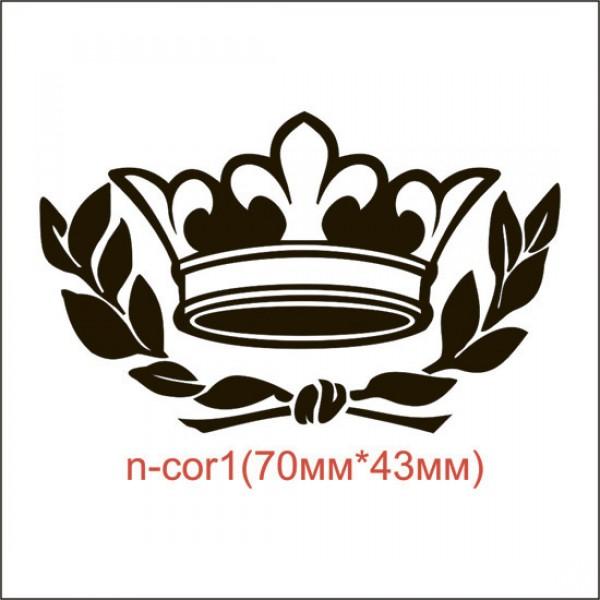 "Термонаклейка ""Корона"" (51шт/л)."