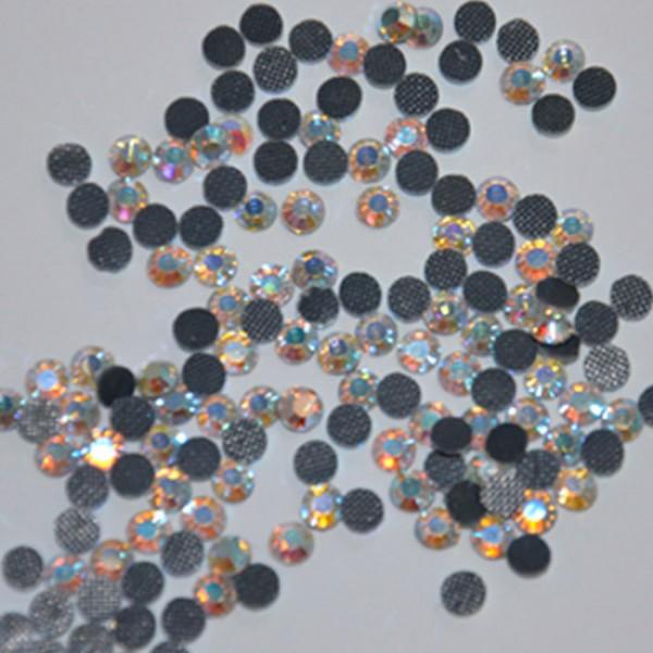 Термо-стразы Hot-fix ss16 crystal AB (1уп/1440шт).
